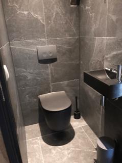 zwarte wc